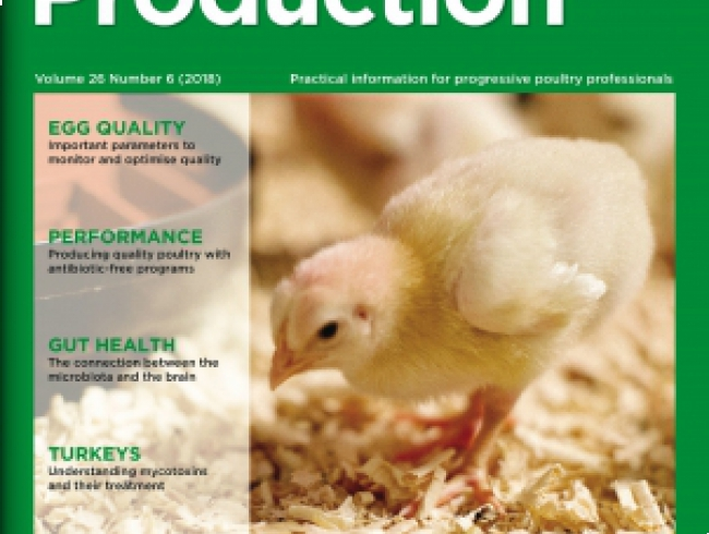 International Poultry Production 26.6 - Egg quality, oils & flavours